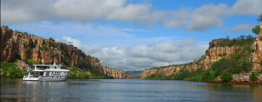 Cruising Australia's Kimberley (Pic: Kimberley Quest)